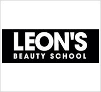 Image result for Leons Beauty School logo